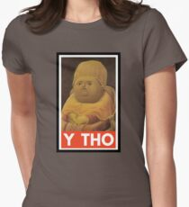 Y THO - MEME (OBEY) Womens Fitted T-Shirt