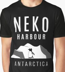 Neko Harbour, Antarctica - Penguin Paradise Graphic T-Shirt