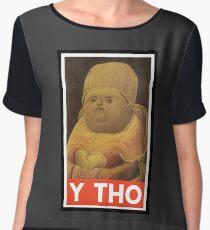 Y THO - MEME (OBEY) Chiffon Top