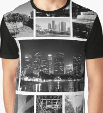 LA in WandB Graphic T-Shirt