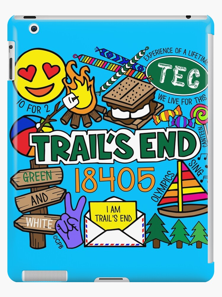«Campamento Trail's End» de Corey Paige Designs