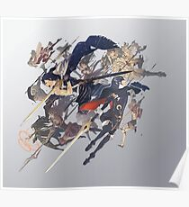 Fire Emblem Awakening Box Art  Poster