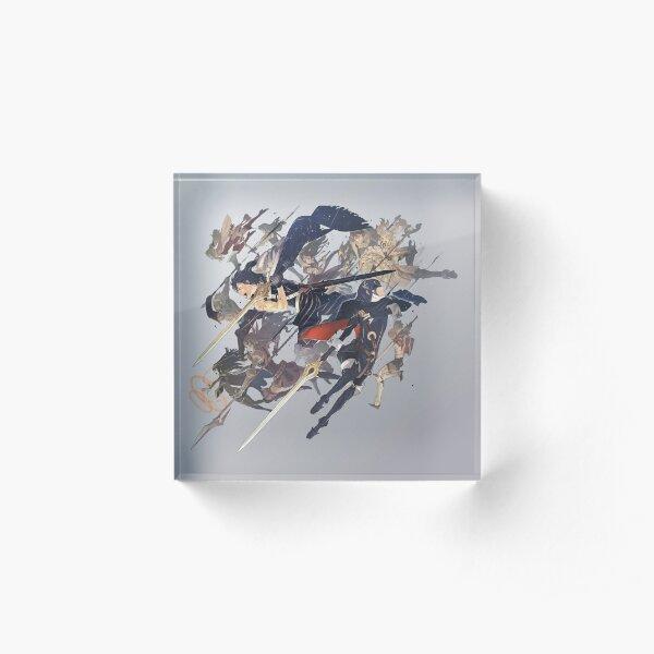 Fire Emblem Awakening Box Art  Acrylic Block
