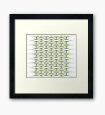 Greenery Modern  Framed Print
