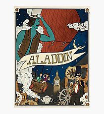 Steampunk Aladdin Photographic Print