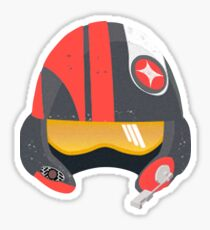 Star Wars - Poe Helmet Sticker