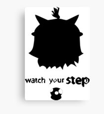 Teemo Watch Your Step  Canvas Print