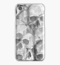Skulls overlays iPhone Case/Skin