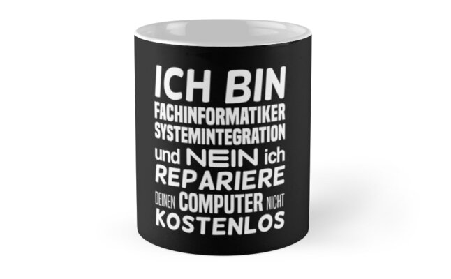 I am a specialist in computer systems integration and no Classic Mugs