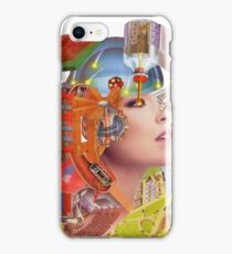 Paper Blinding Collage ~ Montage. iPhone Case/Skin