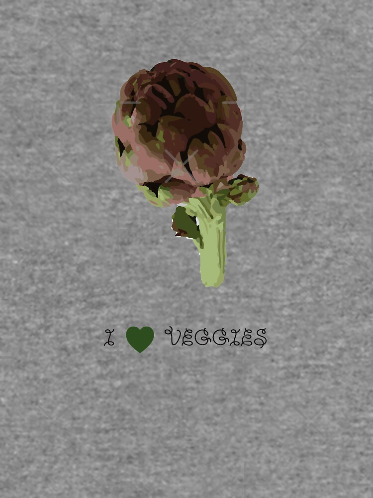 Artichoke - I love veggies by PrintablesP