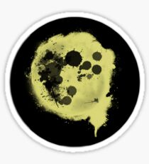 Splatter Moon Sticker