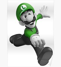 "Luigi, best friend (TO BUY IN COMBO WITH ""Mario, best friend"") Poster"