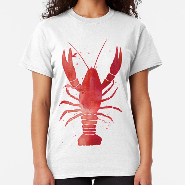 Watercolor Red Lobster Classic T-Shirt