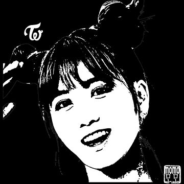 twice momo - threshold (on black) by theultrafan