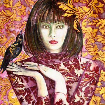 Raven Girl Wins - STOLEN!! by BillyLee
