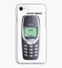 Nokia 3310 iPhone Case/Skin