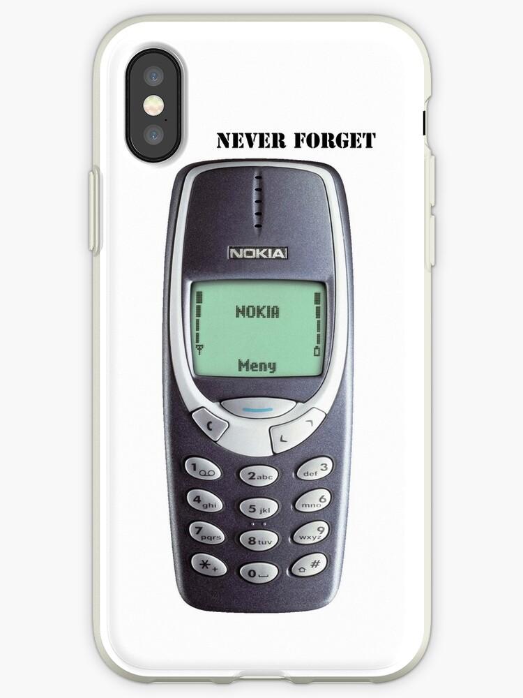 newest fa507 e9adf 'Nokia 3310' iPhone Case by 23SrGio