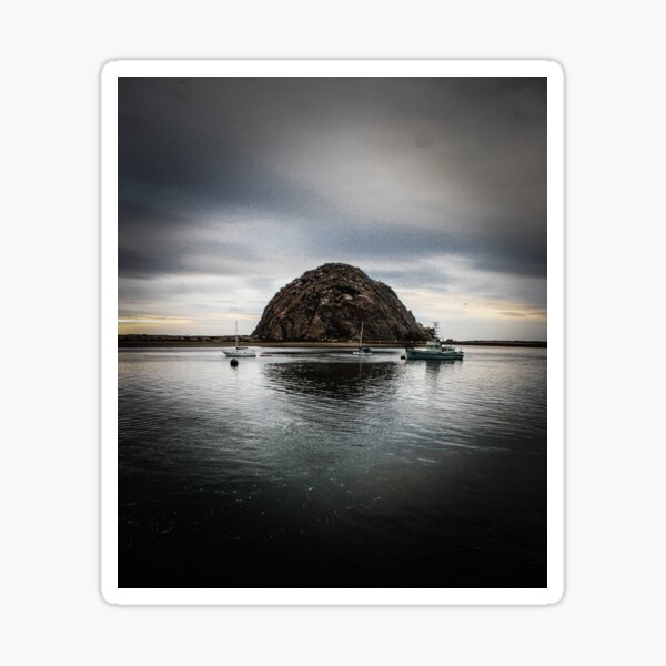 Morro Rock Sticker