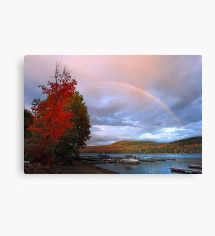 Wild Fall Weather Canvas Print