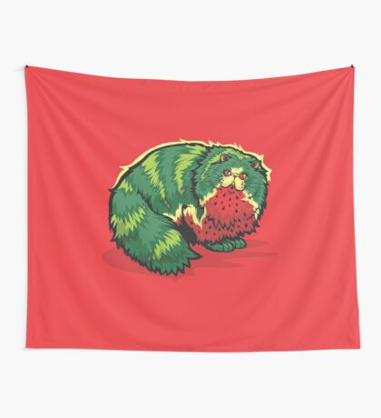 [FruitCats] Watermelon Wall Tapestry