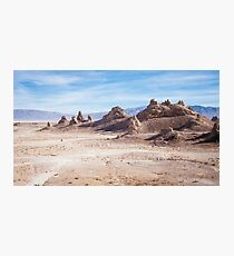 Lost in Trona pinnacles Photographic Print