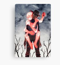 Character Portrait: Jack (GOTH WESTERN) Canvas Print