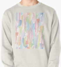 Abstract Brushstrokes 2 - Pastel Pullover