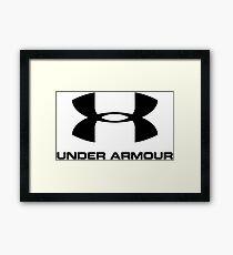 Under armour Framed Print
