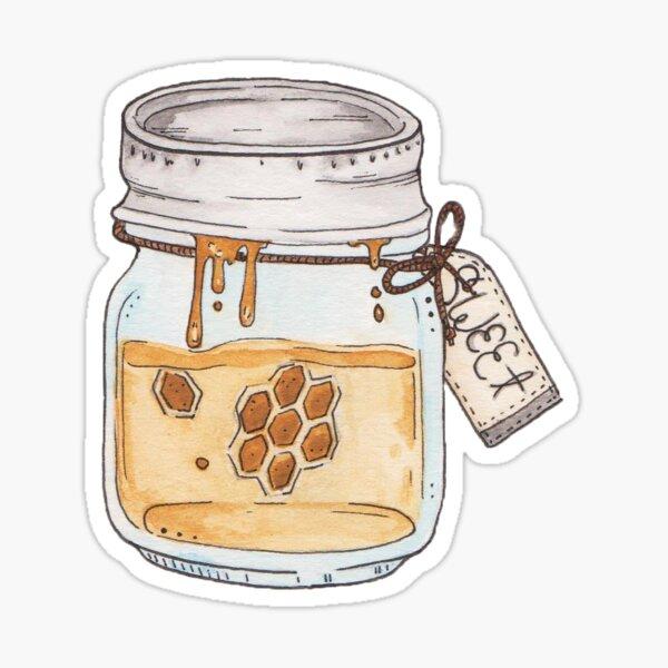 bee sweet Sticker