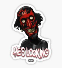 Lipstick Face Demon Sticker