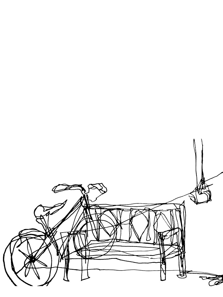 One Line Bike by SketchStudy