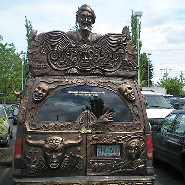 Decorated Van by AuntieBarbie