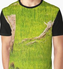Sailing The Sea of Grass Clothing, Bells Rapids, Perth Graphic T-Shirt