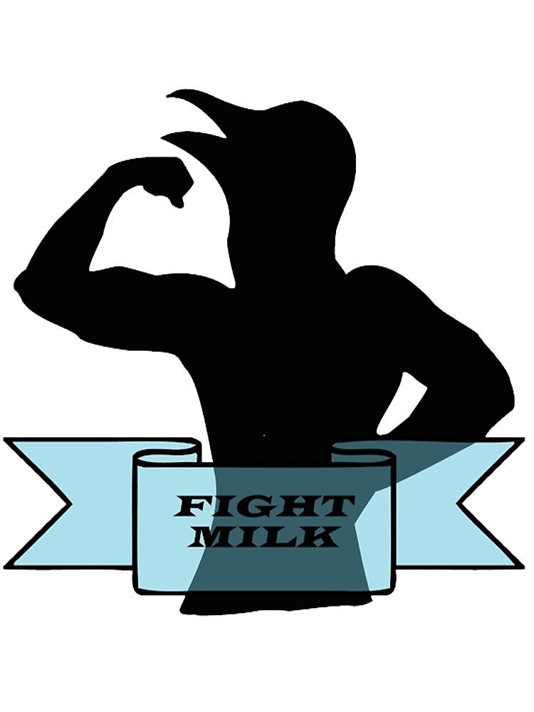 Fight Milk - Always Sunny in Philadelphia by Caleb Barber