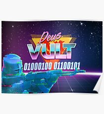 Cyber Deus Vult Poster