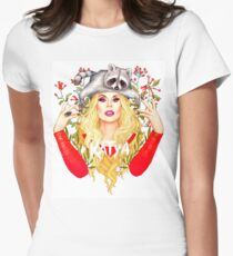 katya zamolodchikova Womens Fitted T-Shirt