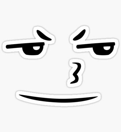 Grumbler face Sticker