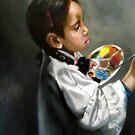 a little painter by Hidemi Tada