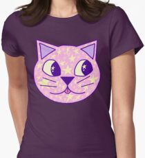 Star Cat Womens Fitted T-Shirt