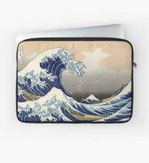 The Great Wave of Kanagawa Laptop Sleeve