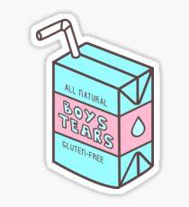 Boys Tears Juicebox Sticker