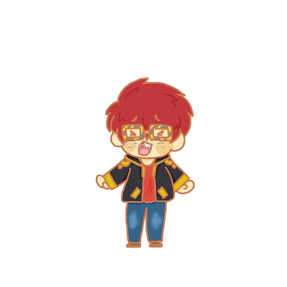 Mystic Messenger 707  by ChoiArt