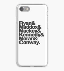 Tana French Dublin Murder Squad Charcoal Ampersand List iPhone Case/Skin