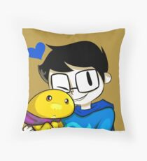 John and Casey Throw Pillow