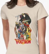 The Legend of Voltron Women's Fitted T-Shirt