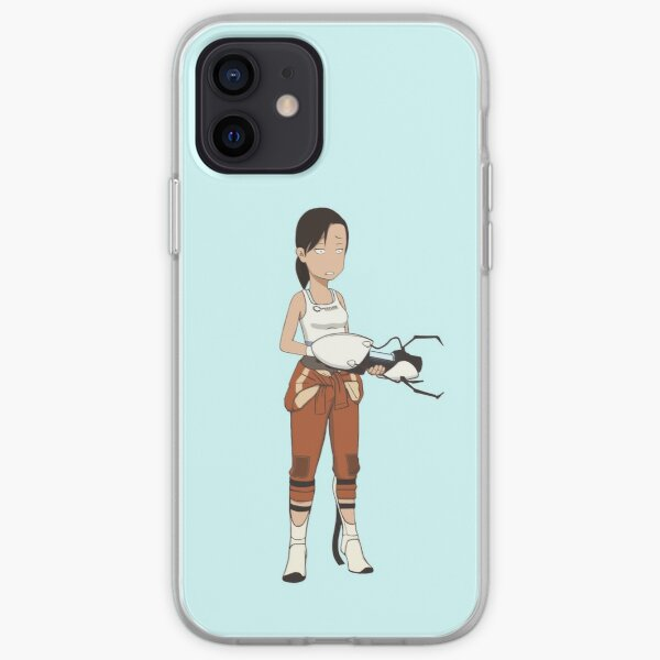 Deponia-Style Chell iPhone Soft Case