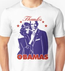 Thanks OBAMAS The President and his wife Unisex T-Shirt