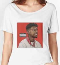 21 Savage !!!! Why you trapping so hard? Women's Relaxed Fit T-Shirt