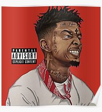 21 Savage !!!! Why you trapping so hard? Poster